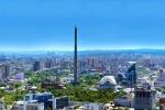 Достопримечательность Екатеринбурга - недостроенная телевизионная башня.